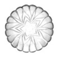 Dĩa thủy tinh NN - D009