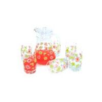 Bộ bình ly hoa mai BBL1