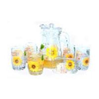 Bộ bình ly hoa hướng dương BBL3